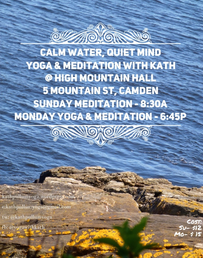 yoga meditation camden maine high mountain hall