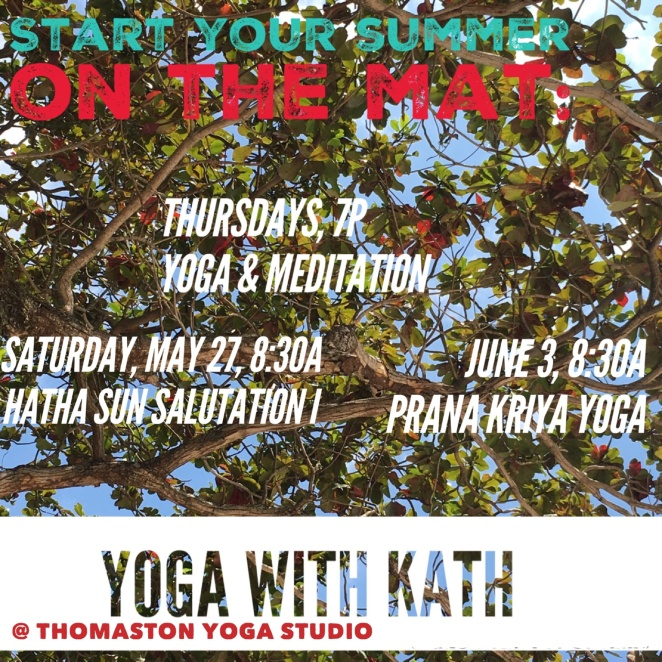 yoga with kath flyer3