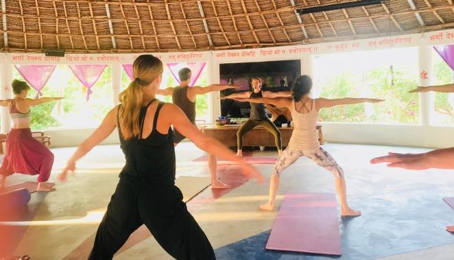 yoga retreat south india tiruvannamalai hatha meditation ayurveda wellness