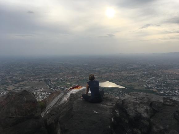 mt arunachala tiruvannamalai yoga meditation ashok tree retreat